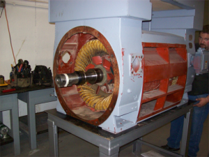 1750 HP electric motor - root cause failure analysis project - Electric Motor Repair