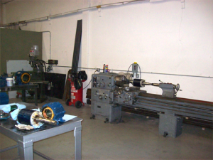 Lathe and Vertical Mill