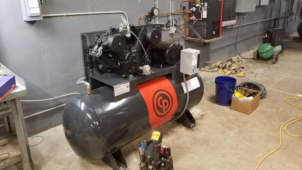rmsc air compressor on-site service